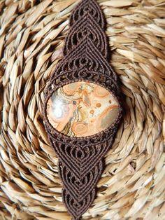 WARMI Macrame Bracelet with Peruvian Jasper