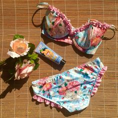 Frilly florals coming soon! ☀️ www.summerroseswim.com.au #summerrose…