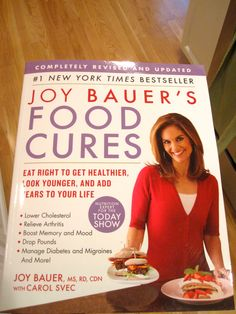 Joy Bauer's Tips for a Healthier Diet -   6 Food Cures That Can Change Your Life :: Nutrition expert Joy Bauer shares her top superfoods to slash cholesterol, ease aches, rev energy levels, and more. Eat your way to amazing health! Egg whites, ginger and more great tips. (click link for more)