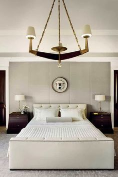 serene bedroom // Thomas Pheasant