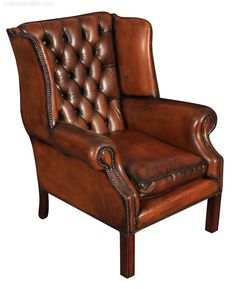Excellent 32 Best Leather Wing Chairs Images In 2019 Wing Chair Gmtry Best Dining Table And Chair Ideas Images Gmtryco