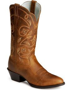 Ariat Heritage Western Cowgirl Boots - Medium Toe, Russet