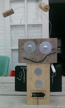 ≥ Robot hout - Speelgoed   Houten speelgoed - Marktplaats.nl