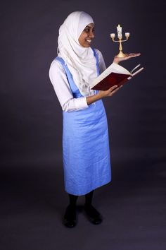 Pin for Later: 19 Hijabi Halloween Costumes Made For Modest Women Belle