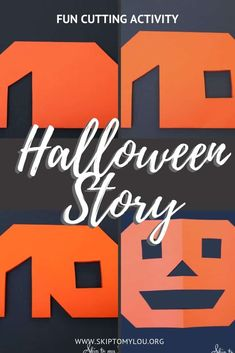 Halloween Stories For Kids, Halloween Activities, Halloween Kids, Halloween Themes, Preschool Halloween, Preschool Art, Halloween Projects, Happy Halloween, Learning Games For Kids
