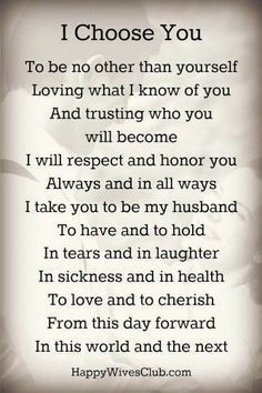 wedding vows Wedding Quotes : Picture Description Romantic Wedding Vows Examples For Her and For Him Wedding Vows For Him, Romantic Wedding Vows, Vows For Her, Before Wedding, Wedding Ceremony, Wedding Rustic, Christian Wedding Vows, Wedding Hair, Bridal Hair