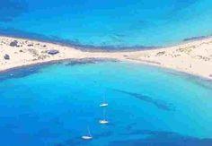 Elofonisos island - Simi beach - Greece - like no other beaches anywhere. Greece Vacation, Greece Travel, Santorini, Atlantis Island, Places To Travel, Places To See, The Beach, Exotic Beaches, Greek Isles