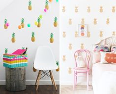Babykamer behang prints