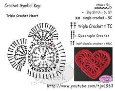 Crochet Heart Felicity