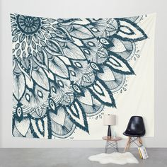 Mandala Wall Tapestry by Rskinner1122 | Society6