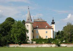 Schloss Mühldorf Kirchen, Austria, Castle, Mansions, House Styles, Home Decor, Environment, Luxury Houses, Interior Design