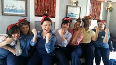 Rosie The Riveter Day aboard The Mark Twain