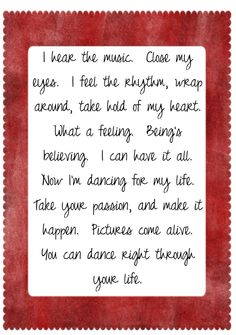 Irene Cara - Flashdance (Oh What a Feeling) song lyrics, music, quotes