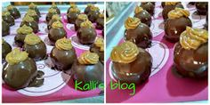 "Kalli's blog: ""Τρουφάκια banoffee"" Banoffee, Muffins, Cupcakes, Breakfast, Desserts, Blog, Tailgate Desserts, Muffin, Cupcake"