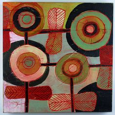 barbara gilhooly  This is a quilt that would work into a similar rug hooking pattern wonderfully