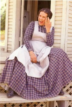 Mrs. Oleson from Little House on the Prairie. Must be an outtake! LOL!