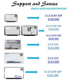 Promoción Pantallas  Support and service