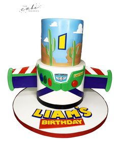 Call or email to order your celebration cake today. Click the link below for more information. Toy Story Birthday Cake, Toy Story Party, Disney Themed Cakes, Cakes Today, Warm Bed, Disney Toys, Celebration Cakes, Disney Inspired, Custom Cakes