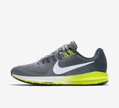 reputable site 39a11 8a04e Nike Air Zoom Structure 21 Size 9 US Grey Men s Running Shoes