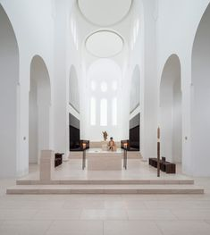 john pawson sensitively restores st moritz church in germany