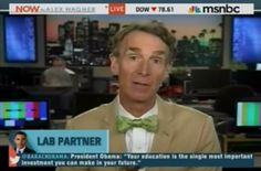 """This is serious business"" VIDEO: Bill Nye encourages media ""to ask pointed questions"" of candidates about climate change policies"