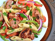 Cajun Pasta Salad. We loved this! Good flavor and great balance.