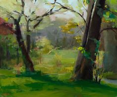 Christine Lafuente's poetic landscapes: http://christinelafuente.com/2011/06/paintings/