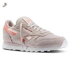 eaf8226cae3 Reebok - CL Lthr SC Spli - M46982 - Color  Beige-Grey - Size  12.0 - Reebok  sneakers for women ( Amazon Partner-Link)