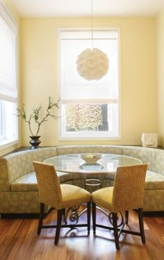 18 best curved settee for round dining table images kitchen rh pinterest com