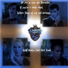 for andrea.. they think the doctor is a ravenclaw like you!