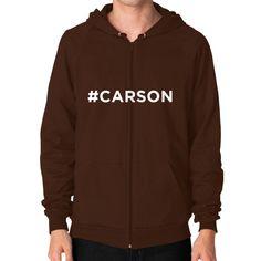 #Carson for President Men's Zip Hoodie