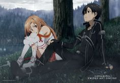 Tissu wall scroll sword art online sao vol 3 asuna et kirito