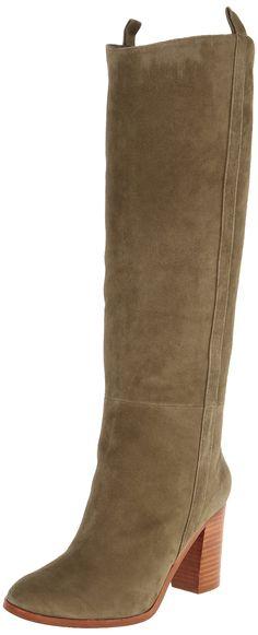 Splendid Women's Spl Delaney Slouch Boot, Dark Olive, 10 M US