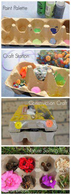 Way to recycle an Egg Carton