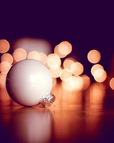 "Christmas Photography - fine art photography lights - beige gold black - wall art prints holiday decor - 8x10 Photograph, ""Deck the Halls"""