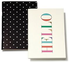 Kate Spade New York Notebooks (Set Of 2) #Fashion #Style #Stationery #Office #HomeOffice