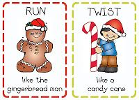 Primary Music Notes: Christmas Fun! Actions for Christmas songs