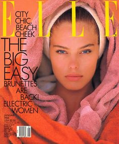 All time FAVE Elle Magazine cover -- Renee Simonsen is just ... WOW