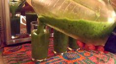 Batido de pepino, piña y perejil para eliminar la grasa