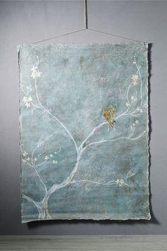 By Aurelie Alvarez. Acrylic and chalk on linen canvas. Handmade in France.