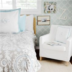 Picket Fence Kids Bedding Set by New Arrivals Inc., Kids Bedding Sets, Bedding for Girls