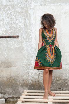 Sukienka Addis Abeba z Gambii rozmiar SML (proj. KOKOworld), do kupienia w DecoBazaar.com