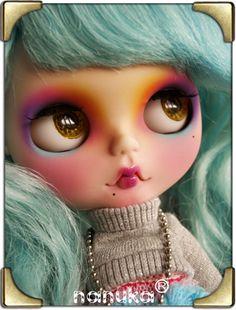 Custom blythe doll by Nanuka