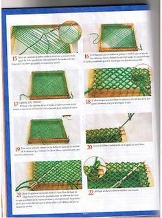 Pin Weaving, Weaving Textiles, Pet Bottle, Loom, Wassily Kandinsky, Nepal, Plastic, Weaving, Carpet