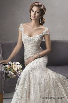 View entire slideshow: 11 of the Best Beaded Dresses on http://www.stylemepretty.com/collection/750/
