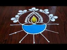 Diwali Drawing, Special Rangoli, Diwali Rangoli, Rangoli With Dots, Good Morning Happy, Deep, Drawings, Simple, Youtube