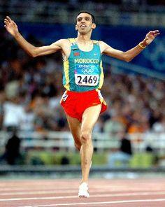 Best middle distance runner ever : Hicham el Guerrouj