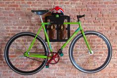 Store your fixie and cycling stuff with style