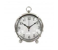 Silver Desk Clock