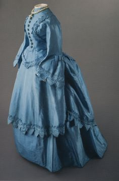 Wedding dress, 1872 From the Peabody Essex Museum... - Fripperies and Fobs